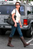 Audrina Patridge leaving Betsey Johnson and heading to Fred Segal in Los Angeles, December 8, 2008