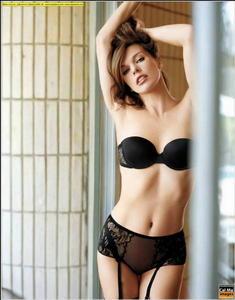 Milla Jovovich sexy nude Maxim photoshoot