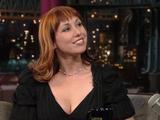 Kari Byron on Letterman Video