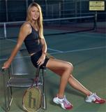 nice legs : maria sharapova