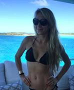 Anna Kournikova - 2015 boating in the bay! MQ