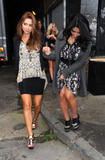 Сетедейс, фото 501. The Saturdays Arriving to a music studio in London - 14.11.2011, foto 501