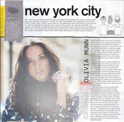 Olivia Munn - Nylon magazine November 2010