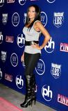 Mel B. @ Pink's Hot Dogs Grand Opening Wearing Blkack Tights